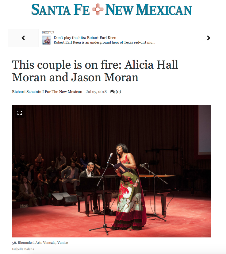 This couple is on fire: Alicia Hall Moran and Jason Moran